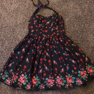 Hell Bunny Vintage Pin Up Rockabilly Dress NEW